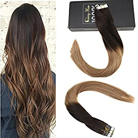 8″ Glueless Ombre Human Hair Bob Wigs for Women Blonde Highlights Bob Lace Front Wigs Brazilian Human Hair Short Wigs 8″ 130% Density