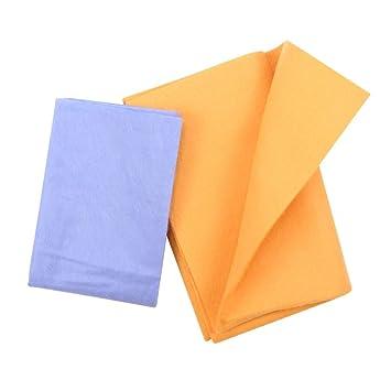 toallas súper absorbentes Anti-grasa paño de fibra de bambú Toalla de lavado cocina limpieza limpiar trapos toallas (2 Piezas): Amazon.es: Hogar