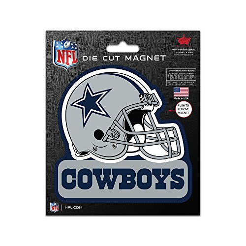 Magnets Dallas Cowboys (NFL Dallas Cowboys Die Cut Magnet, 5 x 6-inches)
