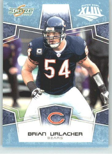 2008 Donruss - Score Limited Edition Super Bowl XLIII GLOSSY # 55 Brian Urlacher - Chicago Bears - (Serial #d to 250) NFL Trading ()