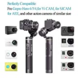 Feiyu G6 3-Axis Splash Proof Handheld Gimbal Updated Version of G5 for GoPro Hero 6/5/4/3/Session, Sony RX0, Yi Cam 4K, AEE Action Cameras of Similar Size