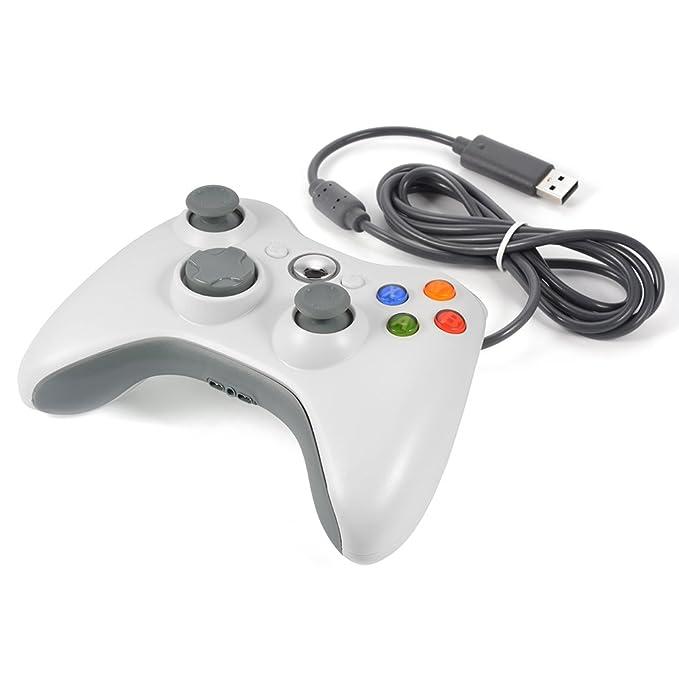 17 opinioni per XCSOURCE Bianco Wired Game Controller Gamepad della barra di comando per Xbox