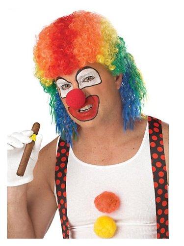 Mullet Halloween Costume Ideas (Adult Clown Mullet Wig - Costume)
