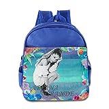 KIDDOS Infant Toddler Kids American Singer And Actress Backpack School Bag, RoyalBlue