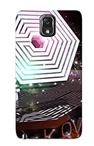 Cute High Quality Galaxy Note 3 Exo 3d Logo Case Provided By Crazinesswith