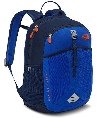 The North Face Youth Recon Squash Backpack WAH.BLUE/ORNG(BTS17) 1037CU.IN.