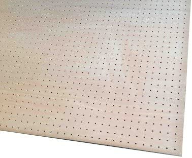 ラワン有孔合板 タイプ1(T1) (F4S) 4mm 450mm×6尺 2枚入り<P>