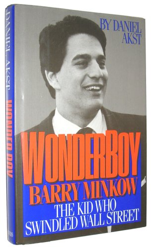 book cover of Wonder Boy: Barry Minkow