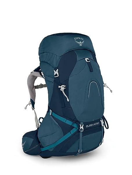 44f811263c Osprey Aura AG 50 M women Zaino da trekking blu: Amazon.it: Abbigliamento