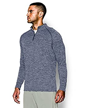 Under Armour Men's Tech 14 Zip, Academysteel, Large 2