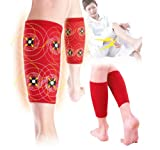 Calf Shin Supporter Support Brace Pain Fatigue New Magnet Warm Ache Relief Cold (Pair)