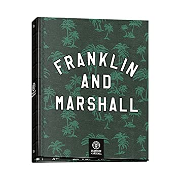 Carpeta Archivador Anillas Franklin & Marshall Boys 52017, Folio 4 Anillas (Verde): Amazon.es: Oficina y papelería