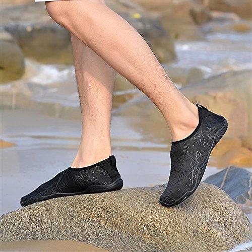 Pour Plongée Et n71 Mabove Piscine Séchage Yoga D'eau De Homme Femme Rapide Bain Aquatique Natation Plage Chaussures Surf Noir fYfqgv