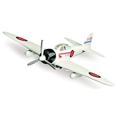 New Ray, WW II, 1:48 scale, Mitsubishi A6M Zero, plastic model: Toys & Games