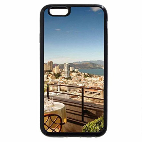 iPhone 6S / iPhone 6 Case (Black) san francisco from a rooftop restaurant