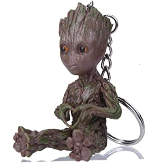 Amazon.com : 8 Types Mini Groot Figures Movie Guardians of ...