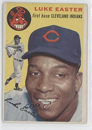 Luke Easter COMC REVIEWED Good to VG-EX (Baseball Card) 1954 Topps #23 -