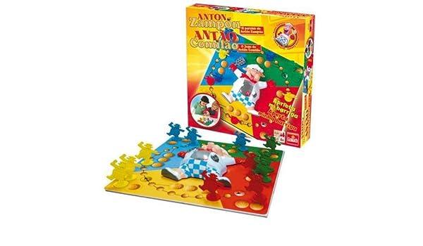 Goliath Parchis Anton Zampon: Amazon.es: Juguetes y juegos
