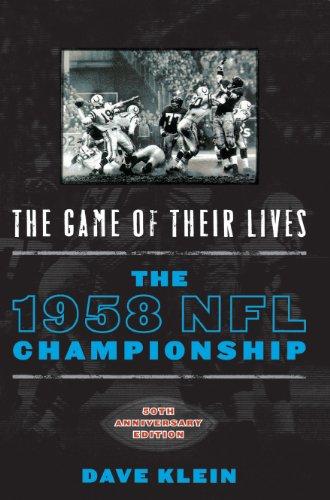 ves: The 1958 NFL Championship (1958 Baltimore Colts)