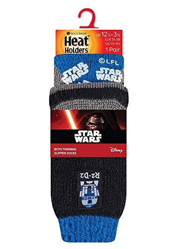 HEAT HOLDERS - Hombre Niños Disney Star Wars Calientes Fantasia Cómodo Térmico Calcetines para Fans de La guerra de las galaxias: Amazon.es: Ropa y ...