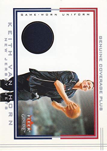 2001-02 Fleer Genuine Coverage Plus Jersey Keith Van Horn New Jersey Nets
