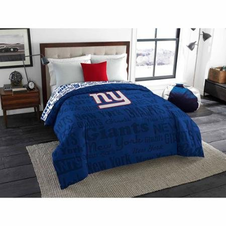 Nfl Comforter - The Northwest Company NFL New York Giants Anthem Twin/Full Bedding Comforter