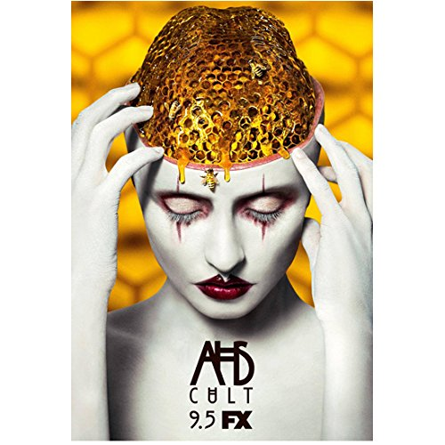 American Horror Story Cult Movie Promo featuring honey combs with bees 8 x 10 Inch Color - Lange Measurements Jessica