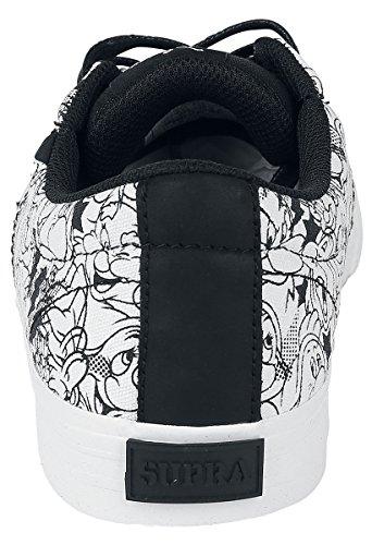 Supra Stacks Vulc II - AII7 Baskets Noir/Blanc EU42