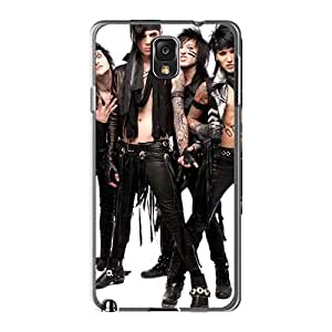 MarieFrancePitre Samsung Galaxy Note3 High Quality Hard Cell-phone Cases Provide Private Custom Trendy Black Veil Brides Band BVB Skin [ghY1081YzXV]