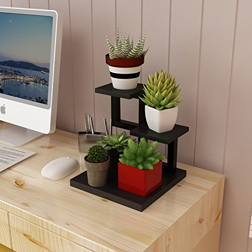 SMC Flower Stand Bedroom Mini Flower Stand Iron Multi-Layer Indoor Multi-Function Fleshy Flower Shelf Table Rack (Color : All - Smc Mini