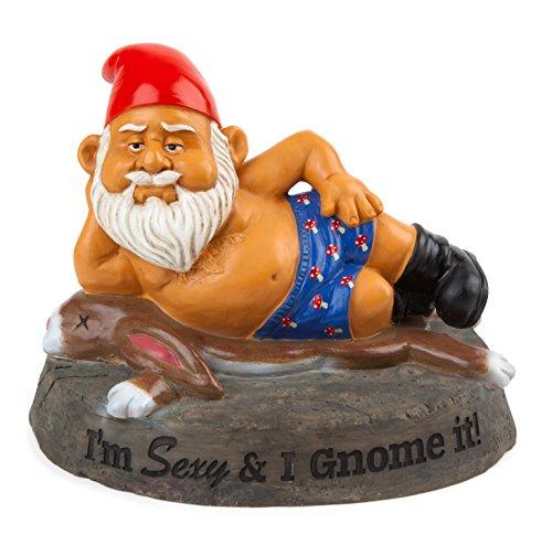 BigMouth Inc Sexy Garden Gnome