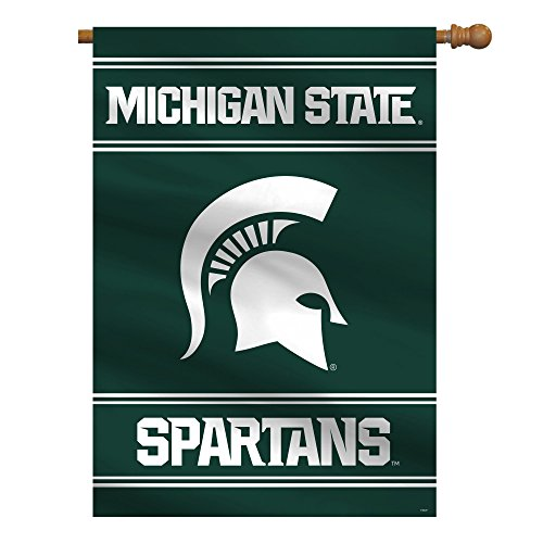 Fremont Die NCAA Michigan State Spartans 2-Sided House Flag, 28