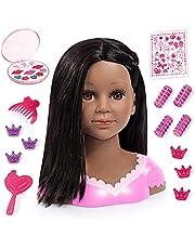Kaphoofd voor make-up en hairstyling met toebehoren