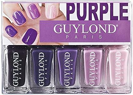 Guylond púrpura gradación Esmalte de Uñas Set, 1er Pack (1 x 20 ml): Amazon.es: Belleza
