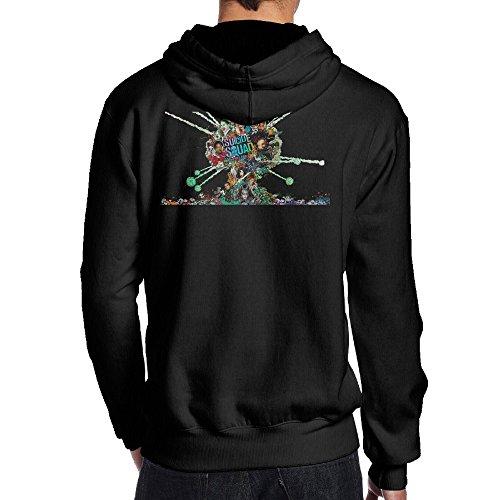 [Suicide Squad Men's Band Of Skulls T-Shirt] (Male Tomb Raider Costume)