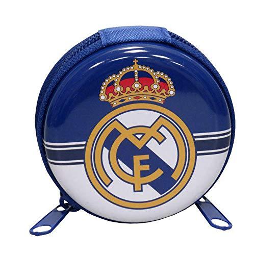 Real Madrid Monedero de Metal Redondo de Monedero, 25 cm ...