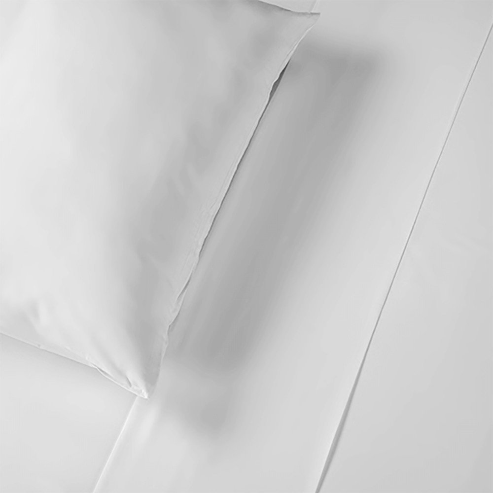 Thomas Lee PerfectCale 100% US Grown Pima Cotton King Size Duvet Cover in White