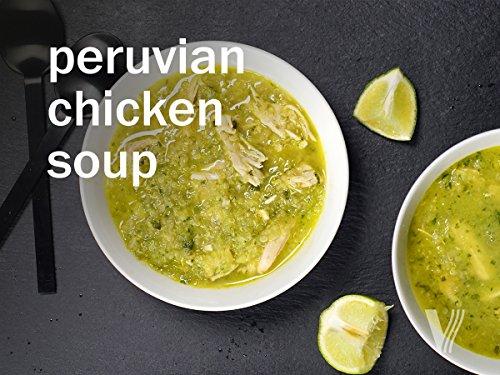 Peruvian Chicken Soup (Onion Jalapeno)