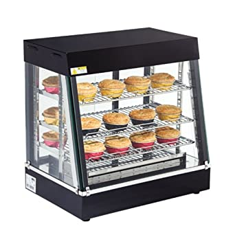 Buffalo Hot Display Cabinet Warmer Showcase Display Unit Pastry ...
