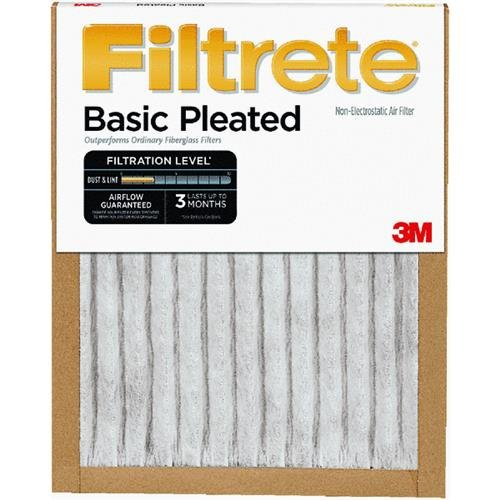 Wholesale Filtrete(TM) Basic Pleated Air Filter FBA04DC-6, 14 in x 25 in x 1 in (35,5 cm x 63,5 cm x 2,5 cm) You are purchasing the Min order quantity which is 6 EACH pgD3Hw2t