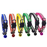 PACCOMFET FUNPET 6 Pcs Breakaway Cat Collar with