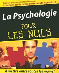 La psychologie pour les nuls par Cash