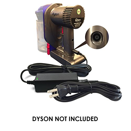 Replacement Dyson DC 16.75V / 24.35V Battery Charger Adapter Power Supply Plug Cable for DC30, DC31, DC34, DC35, DC43H, DC44, DC56, DC57 Multi Floor / Animal / Handheld Cordless Vacuum Cleaner Hoover by ABC Products