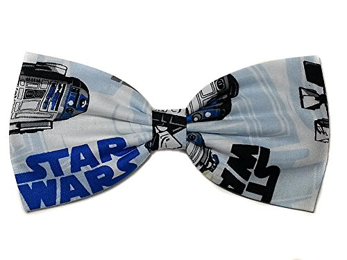 Price comparison product image Super Heroes Hair Bows-sci Fi,  Horror,  Marvel (Star Wars R2D2,  Alligator Clip)