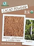 Natierra Organic Cacao Powder, 8-Ounce