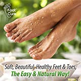 Foot Cure Tea Tree Oil Foot SOAK with ESPSOM Salt - Extra Strength Formula - for Toenail Fungus, Athletes Foot, Stubborn Foot Odor Scent, Fungal, Softens Calluses & Soothes Sore Tired