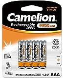 Camelion 17011403 Akku (NiMH, R03, Micro, AAA, 1100 mAh, 4er)
