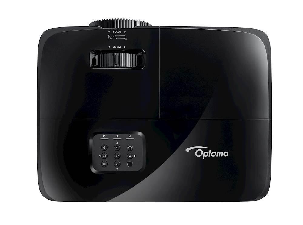 Black Optoma X342e 3700 Lumens XGA Projector Stationery & Office ...
