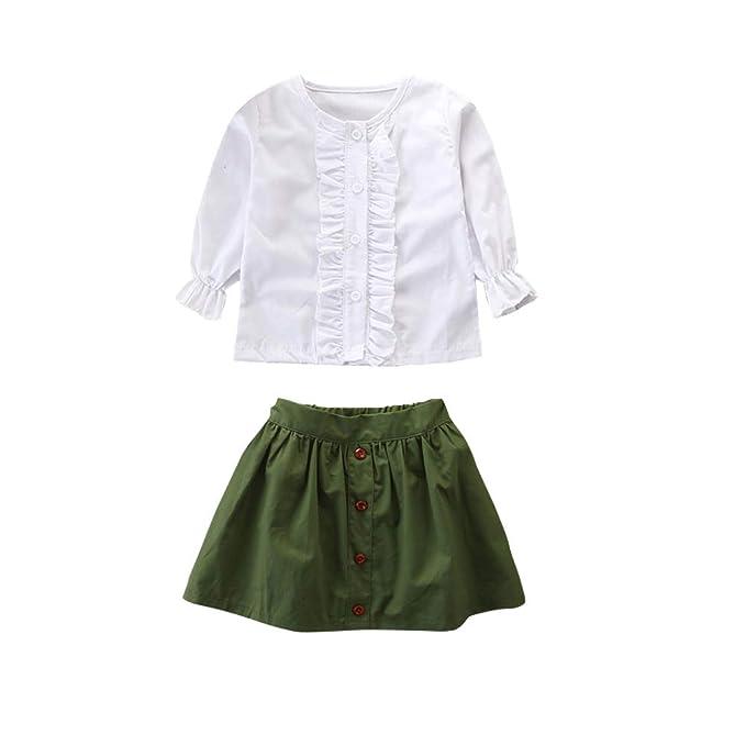 Amazon.com: KIDSA 1-6T - Conjunto de ropa de manga larga ...
