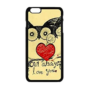 Lovely owls unique durable fashion Cell Phone Case for iPhone plus 6